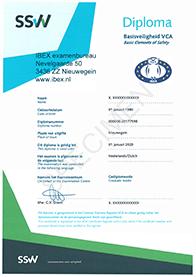 Dispensatie verlopen VCA-diploma's tussen 13 maart en 1 juli 2020